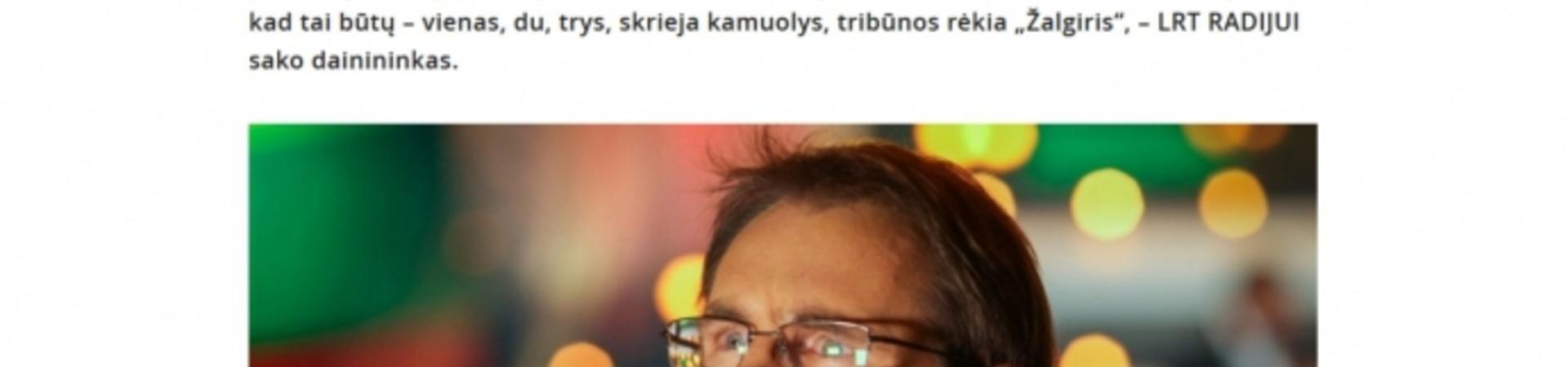 """Daina """"Trys milijonai"""" buvo kuriama ir Molėtų rajone"""