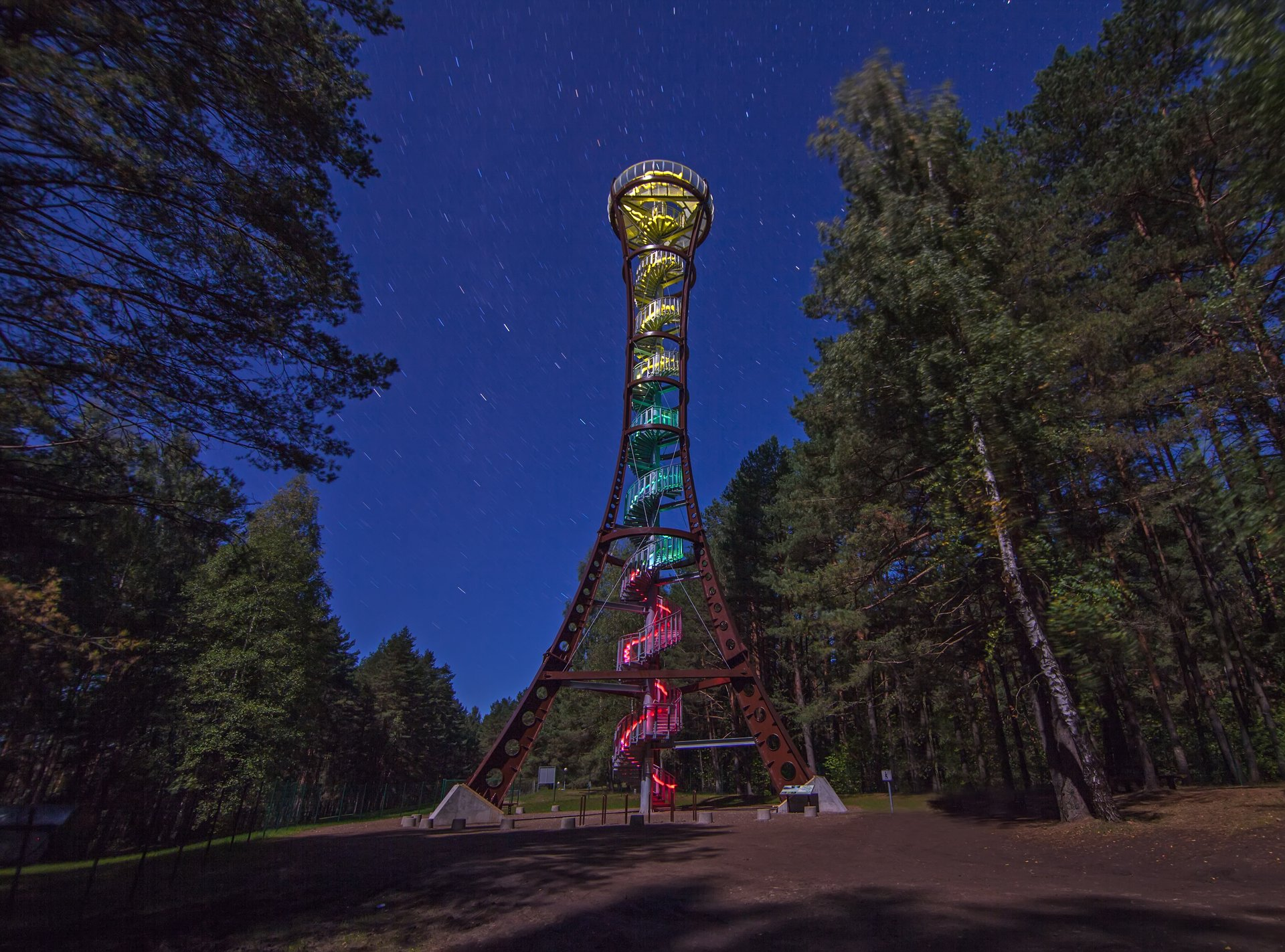 Žiemą aplankyk 10 apžvalgos bokštų saugomose teritorijose