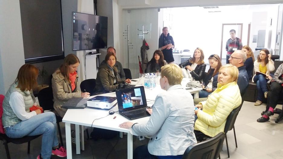Žurnalistų infoturas Molėtų krašte