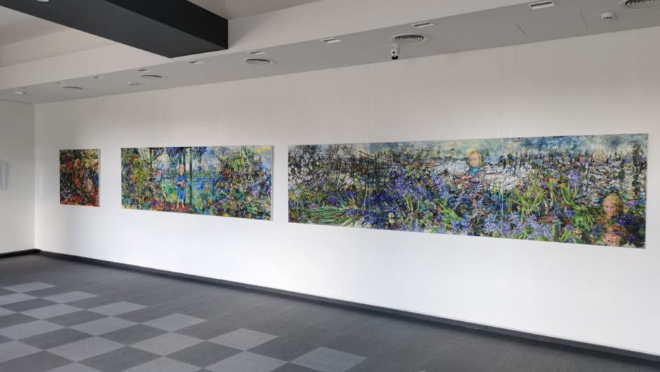 Molėtų dailės galerijoje Nomedos Saukienės tapybos paroda