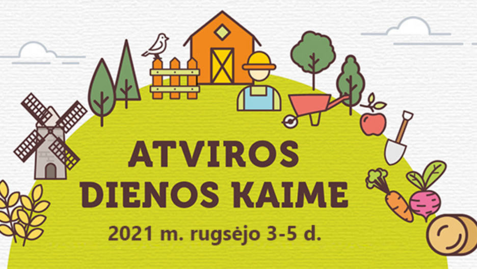 """""""Atviros dienos kaime 2021"""" - tapkite akcijos dalyviu"""