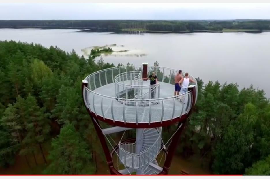 Naujasis apžvalgos bokštas (video)
