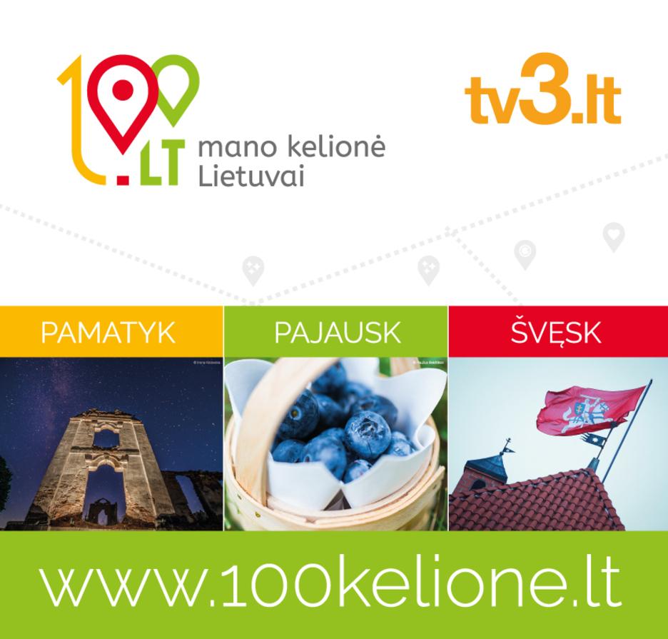 """LT100: mano kelionė Lietuvai"""