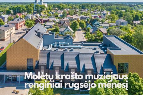 Molėtų krašto muziejaus rugsėjo mėnesio renginiai