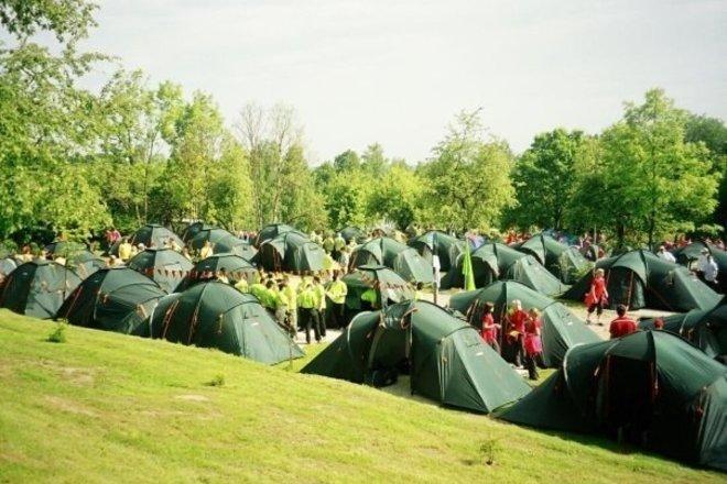 "Camping ""Apple Island"""
