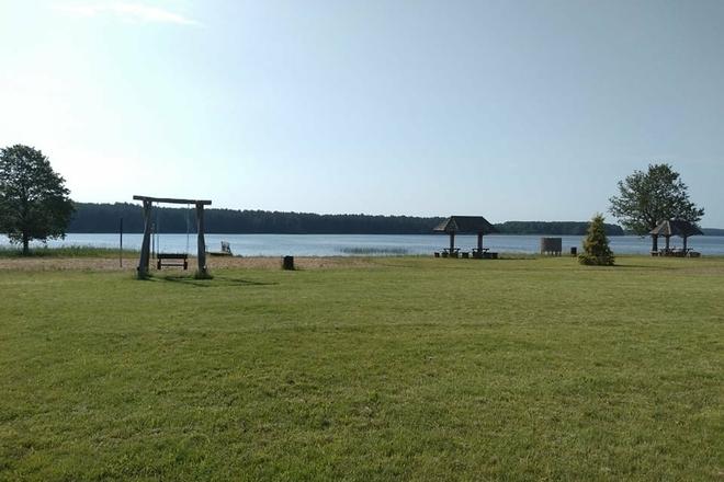 Maudymosi vieta  - Arino ežeras, Joniškio mstl.