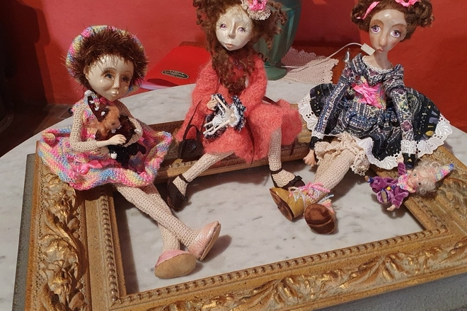 Educational Programmes of Doll Making at the Homestead