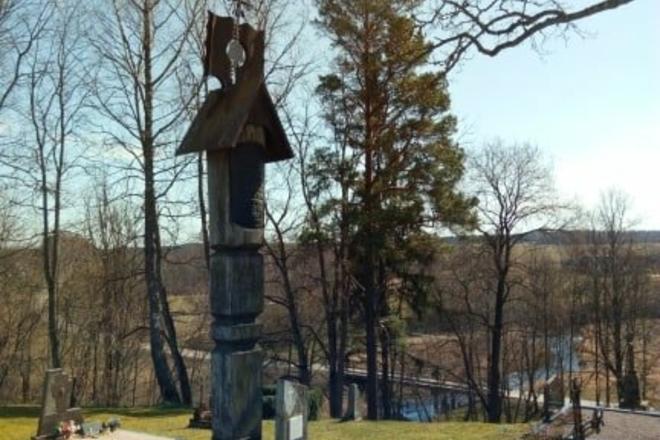 Die Grabstätte von J. Gaidamavičius – Gaidys