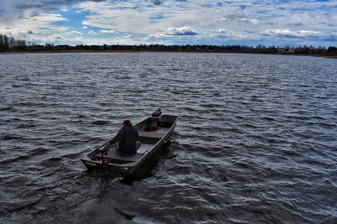 Makšķerēšanas laivas