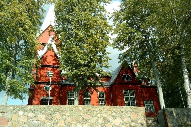 Skudutiškio Švč. Trejybės bažnyčia