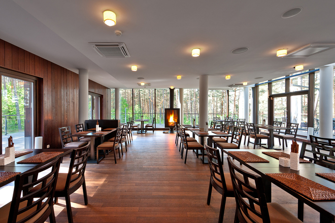 SPA Hotel Belvilis restorāns
