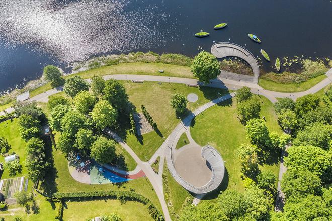 Park Rzeźby w Malatach(Molėtai)