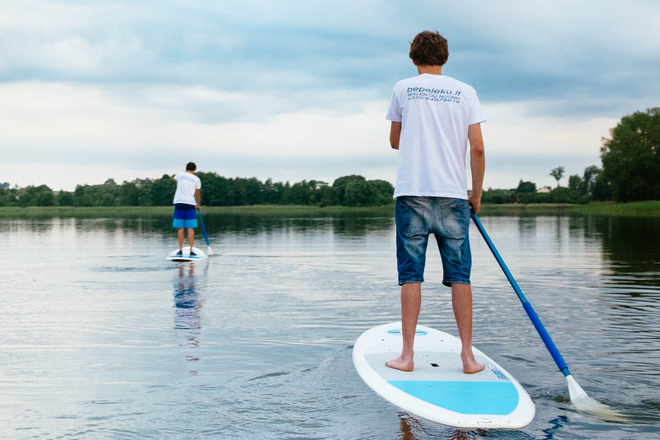 Stand-up paddle board rental (SUP)