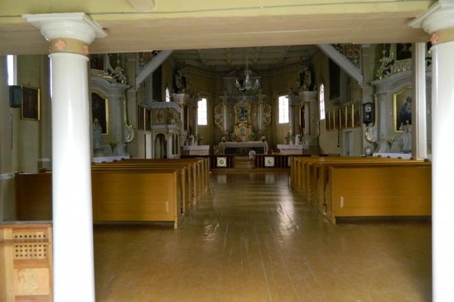Inturkės bažnyčia ir varpinė