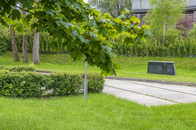 Der Ort und das Grab des Massakers der Molėtai Juden