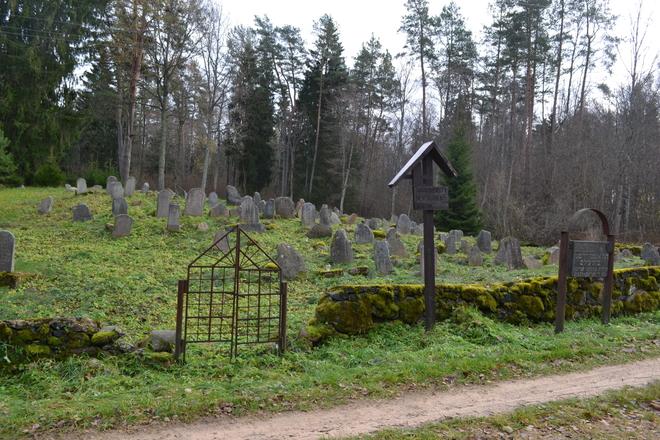 Tauragnų žydų senosios kapinės