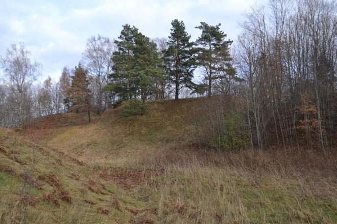 Tauragnų piliakalnis su gyvenviete