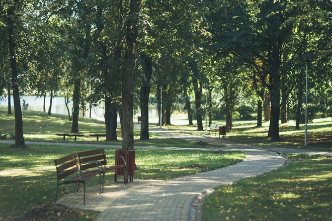 Skulpturenpark in Molėtai