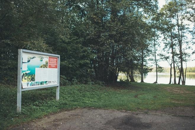 Dvi polinės Luokesų ežero gyvenvietės