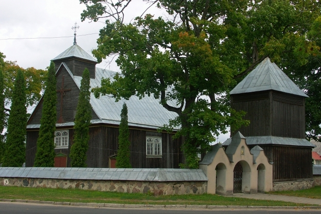 The Church and Belfry of Inturkė