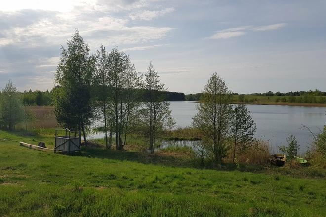 Maudymosi vieta - Krakavo ežeras, Žaugėdų kaimas.