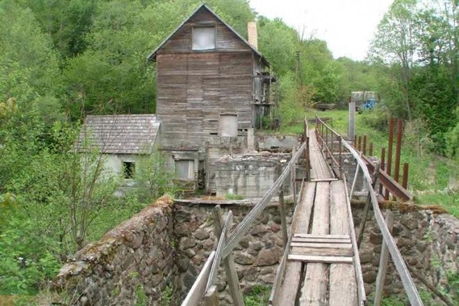 Wassermühle in Maišiakulė