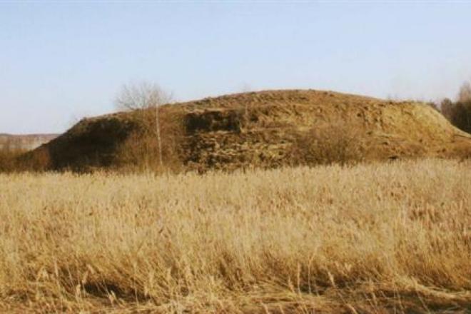 Grabhügel in Pavandenė