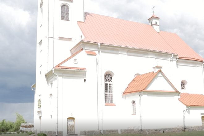 The Church of St. Laurynas, ensemble of the Canauninkai Monastery