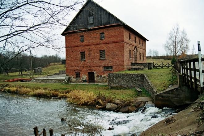 Водяная мельница Siesartis