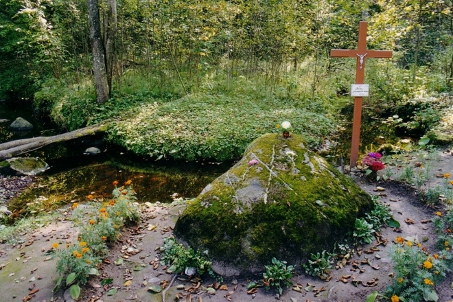 The Stones and Spring of Skudutiškis