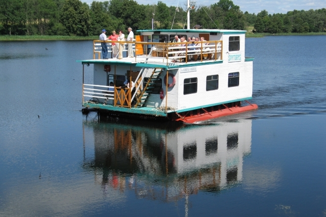 "Recreational ferry ""Lighthouse"", boat, water bike rent"