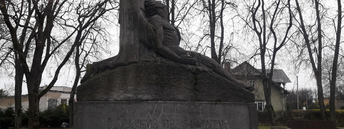 Monument to the victims of Lithuanian Independence (Sirvintos)