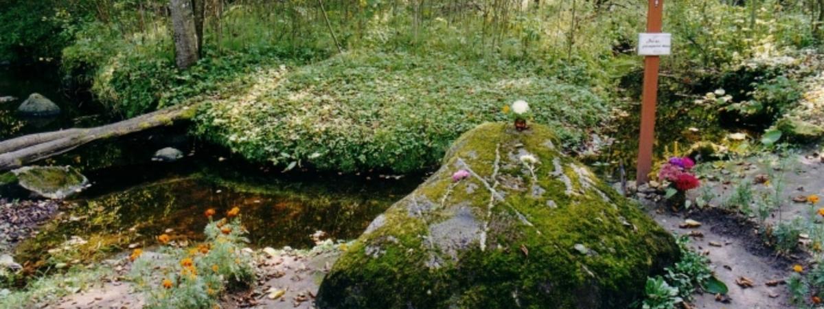Skudutišķu akmeņi un avots