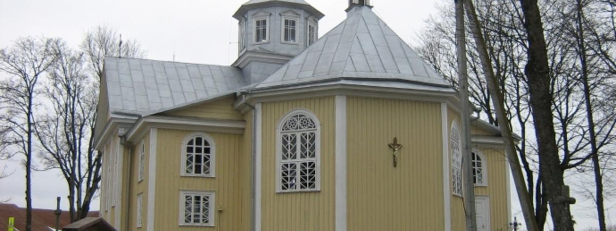 Die Kirche in Suginčiai