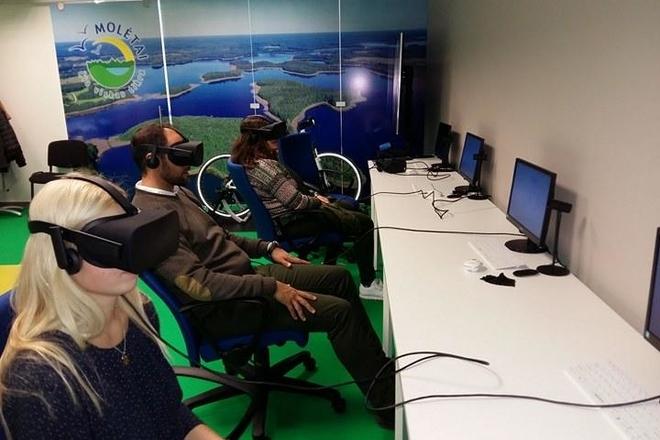 """Virtual educational - historical tour """"Molėtai kitaip"""""""